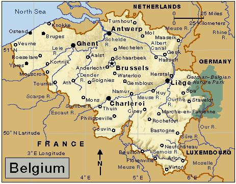 World War 2 Map Of Belgium - Design Templates